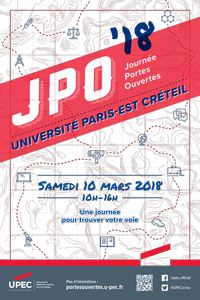 Une journée pour trouver votre voie - JPO de l'UPEC - 10 mars 2018