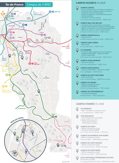 JPO - Plan d'accès - Ile-de-France